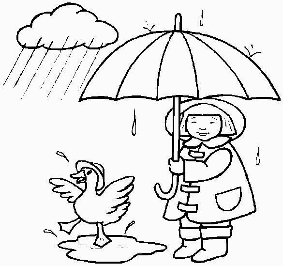 esquimese e ochetta sotto la pioggia
