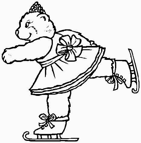 orsetto pattinatore