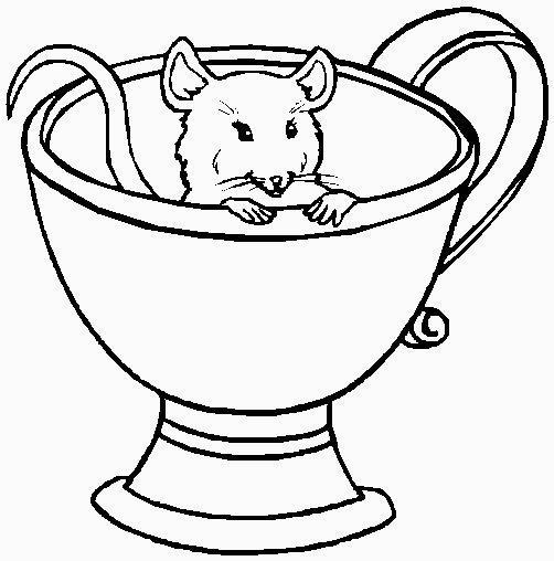 topolino nel vaso