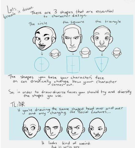 Espressioni del viso 4