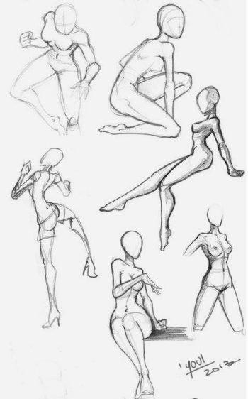 Figure umane donne in movimento 2