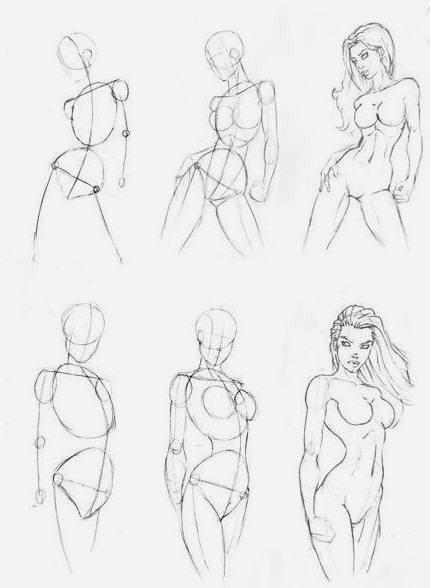 Figure umane donne in movimento 4