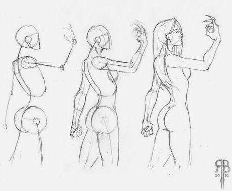 Figure umane donne in movimento 5