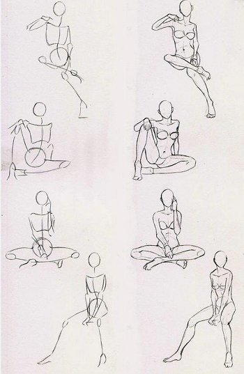 Figure umane donne in movimento 6