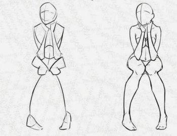 Figure umane donne in movimento 7