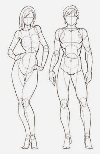 Figure maschili e femminili