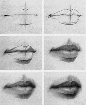 Disegnare una bocca