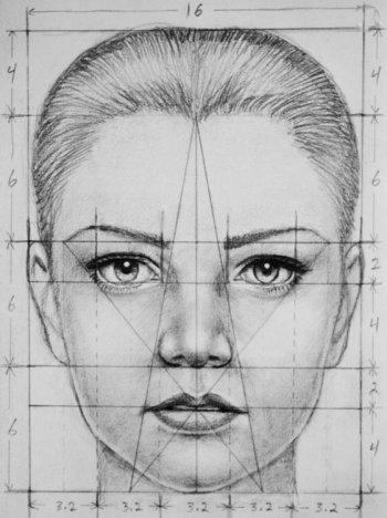 Disegnare un viso di donna 1
