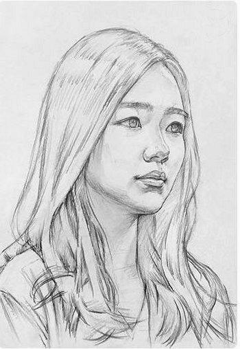 Disegnare un viso di donna 4