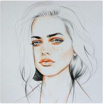 Disegnare un viso di donna 7
