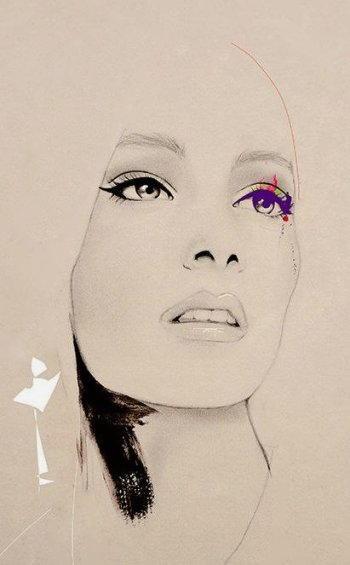 Disegnare un viso di donna 8