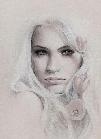 Disegnare un viso di donna 10
