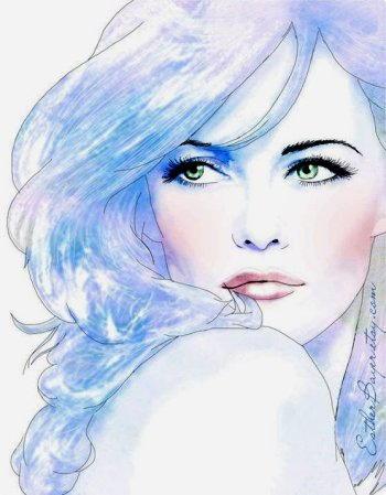 Disegnare un viso di donna 11
