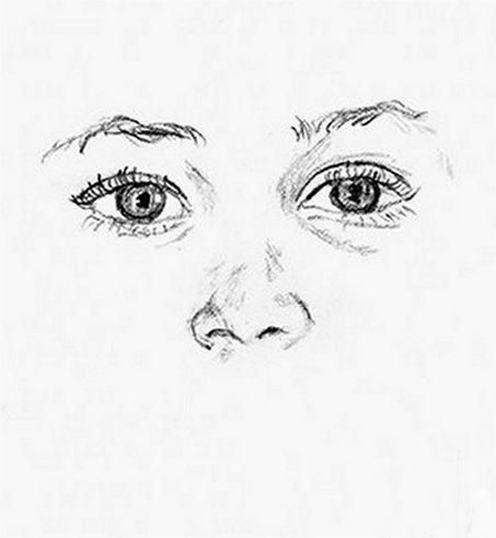 Popolare CORSO DI DISEGNO PER PRINCIPIANTI - occhi e naso | Settemuse.it NK41