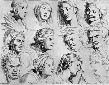 Le espressioni del viso