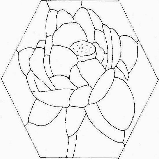 disegno del fiore completo