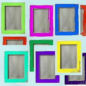 Corso di disegno per principianti la pittura su vetro for Cornici per foto in vetro