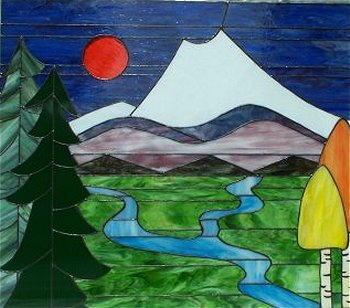 Corso di disegno per principianti la pittura su vetro for Disegni vetrate