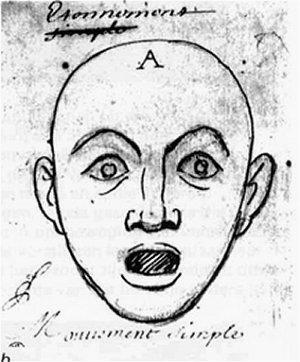 La Sorpresa Le espressioni del viso