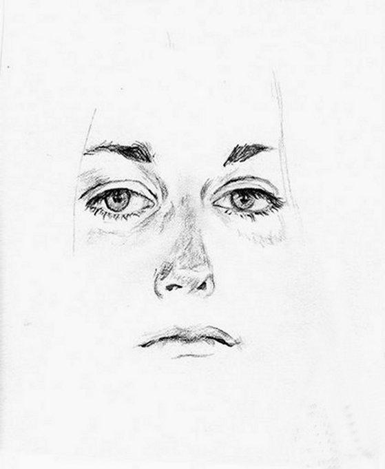 Popolare CORSO DI DISEGNO PER PRINCIPIANTI occhi naso bocca | Settemuse.it TS03