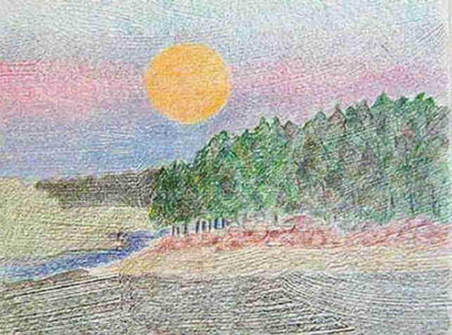 Pin paesaggi facili da disegnare disegni colorare imagixs for Paesaggi semplici da disegnare