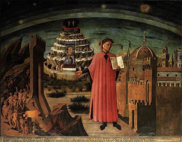 Divina commedia e storia di Dante Alighieri