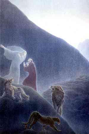 Dante - Inferno - Primo Canto - Le tre fiere