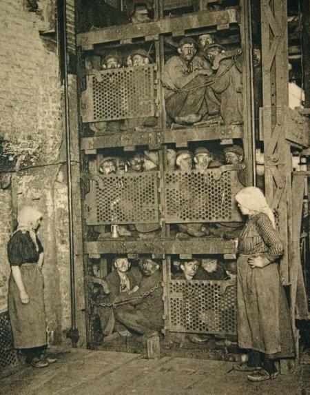 migranti italiani nelle miniere di carbone