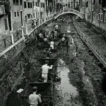 quando a venezia si pulivano i canali
