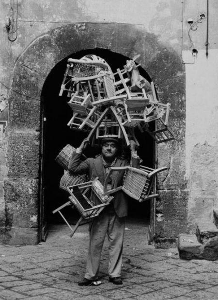 venditore di sedie