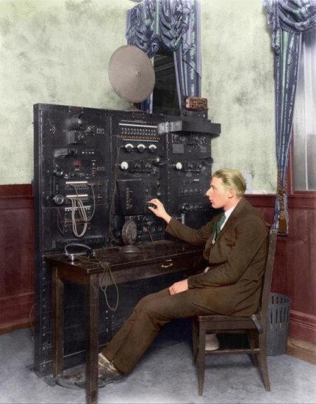 i primi radioamatori