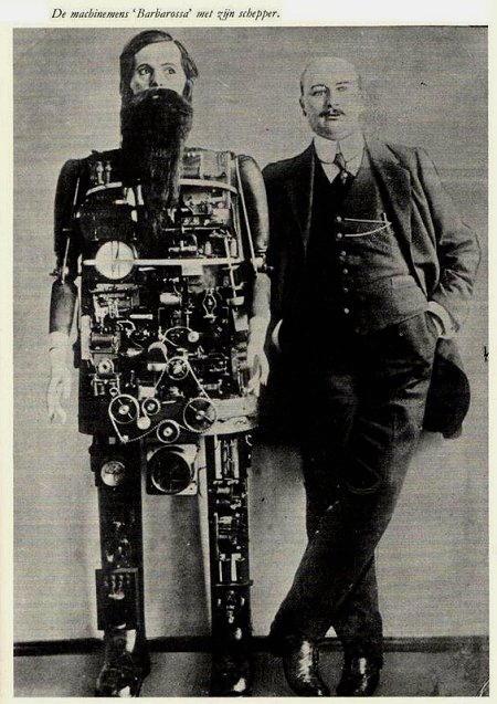 il primo robot umanoide