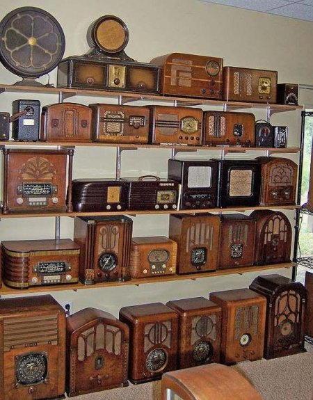 le radio di legno