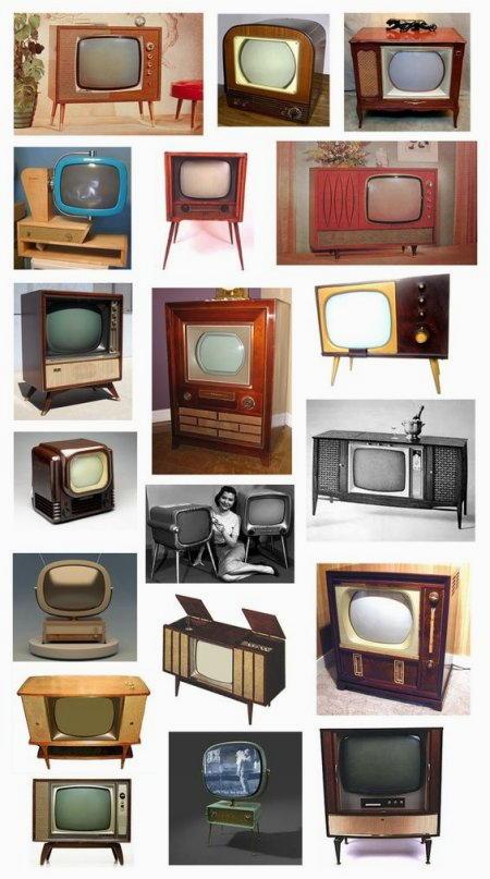 televisori di antiquariato