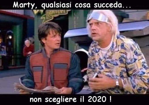 non scendere nel 2020
