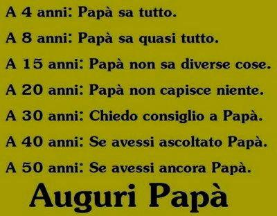 auguri papa