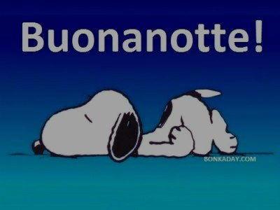 Buonanotte da Snoopy