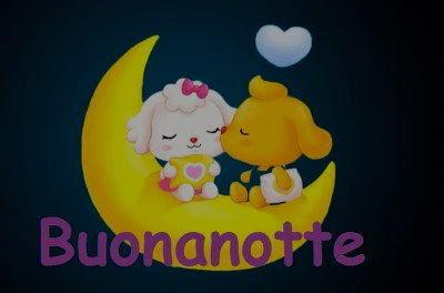 Buona notte con la luna