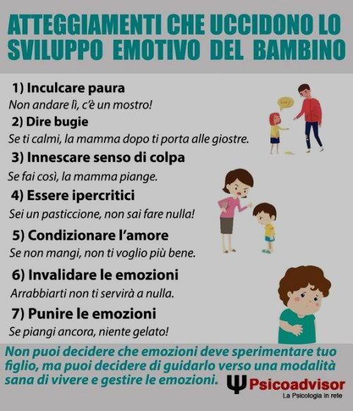 sviluppo emotivo bambini