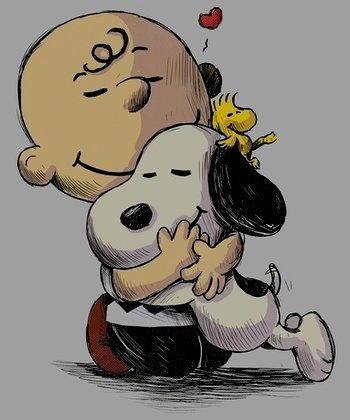 Charlie Brown Snoopy Woodstock