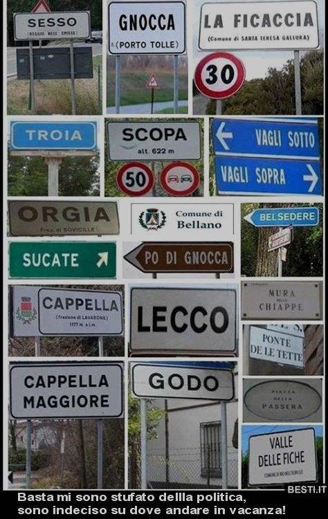 famose localita italiane