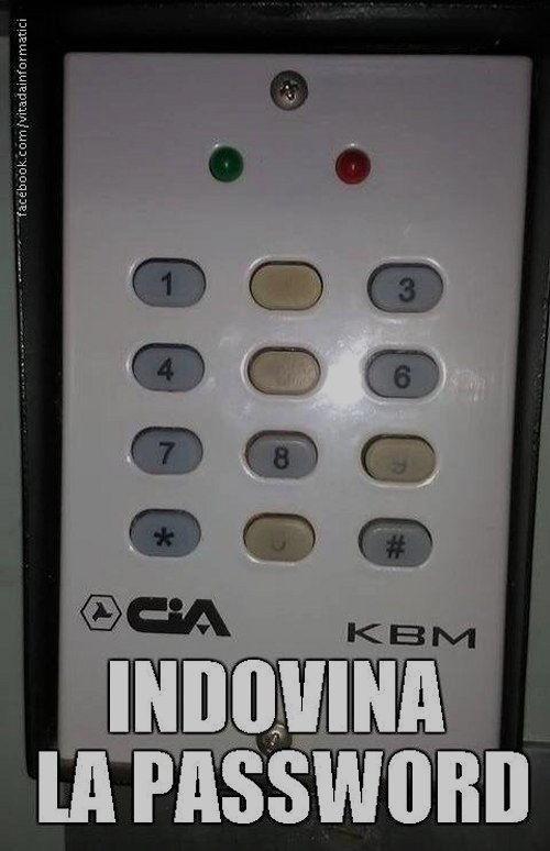 indovina la password