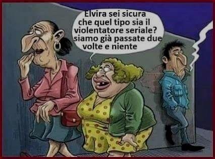violentatore seriale