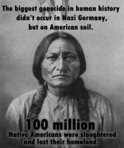 Vignetta nativi americani