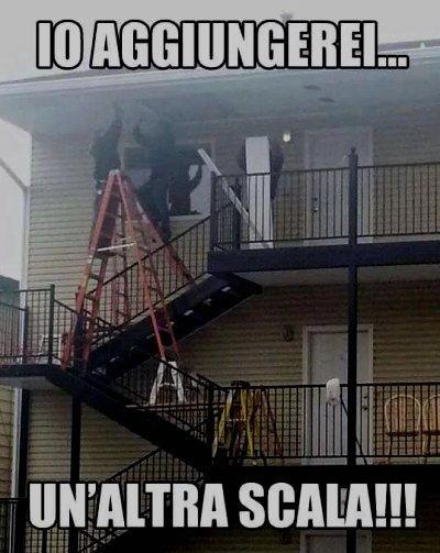 scale in sicurezza