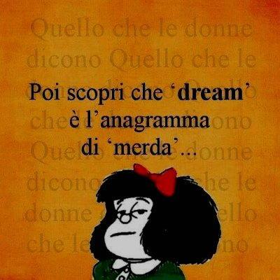 anagramma di dream