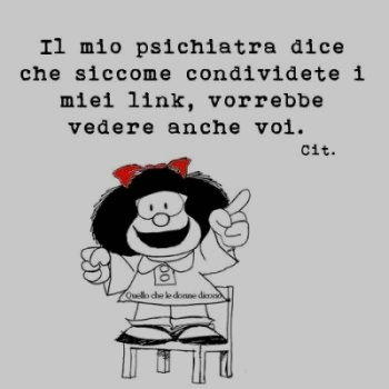 Vignetta mafalda I miei link
