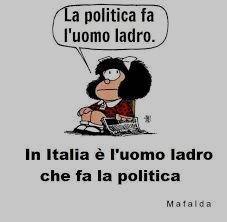 la politica fa uomo ladro