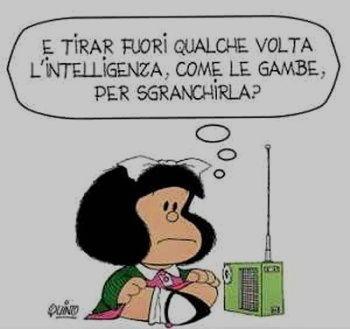 Vignetta mafalda intelligenza