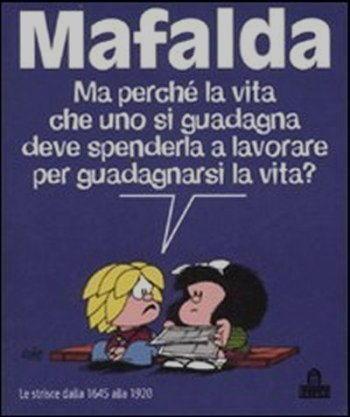 Vignetta mafalda vita
